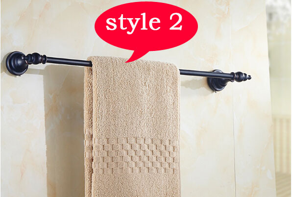 Portasciugamani Bagno Muro : Buona qualità singola barra di tovagliolo portasciugamani bagno
