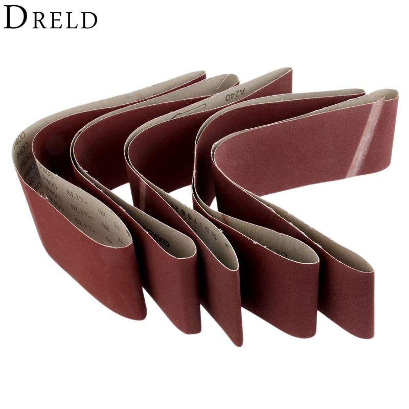 DRELD 1Pc 915*100mm Polishing Sanding Belt Abrasive Sanding Paper For Belt Sanders Bench Grinder 150/180/240/320/400 Grit