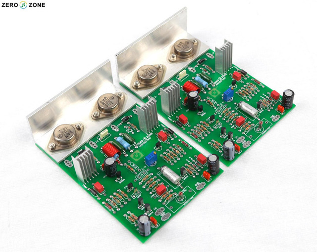 Finished 2 0 Channel Ncc200 Power Amplifier Board Base On Uk Naim Nap250 135 Amp