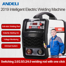 цена на Andeli Arc -250t 250a Igbt Inverter Dc Booglazing welding Machine Mma Lasser For Lassen Works And Electrical With Accessories