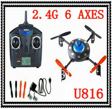 RC Quadcopter UDI U816 2.4Ghz 4CH 6-Axis GYRO One Key 3D Tumbling Flip UFO Mini Parrot Drone remote control helicopter vs V202