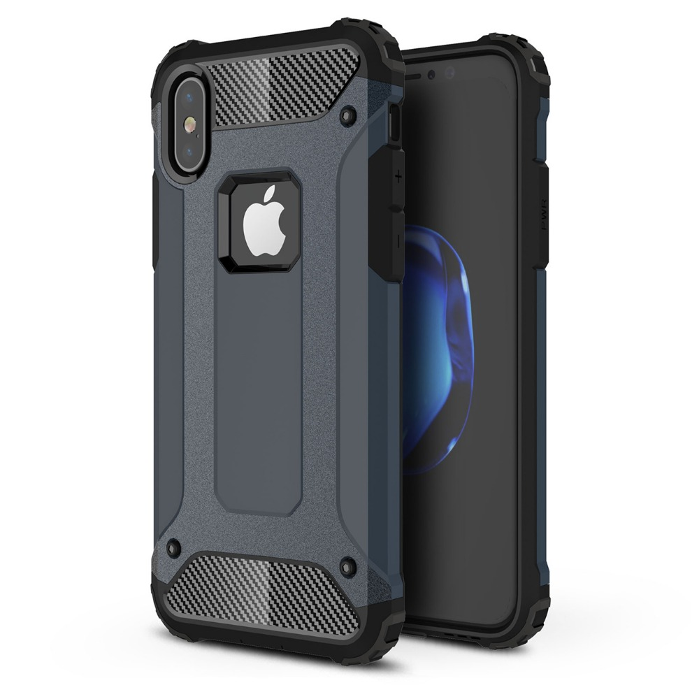 For <font><b>Iphone</b></font> X XR XS Max <font><b>Case</b></font> Hybird Luxury Armor Rubber Hard PC Soft TPU Shockproof Phone Cover For <font><b>Iphone</b></font> 8 7 6S 6 Plus 5 5S SE image