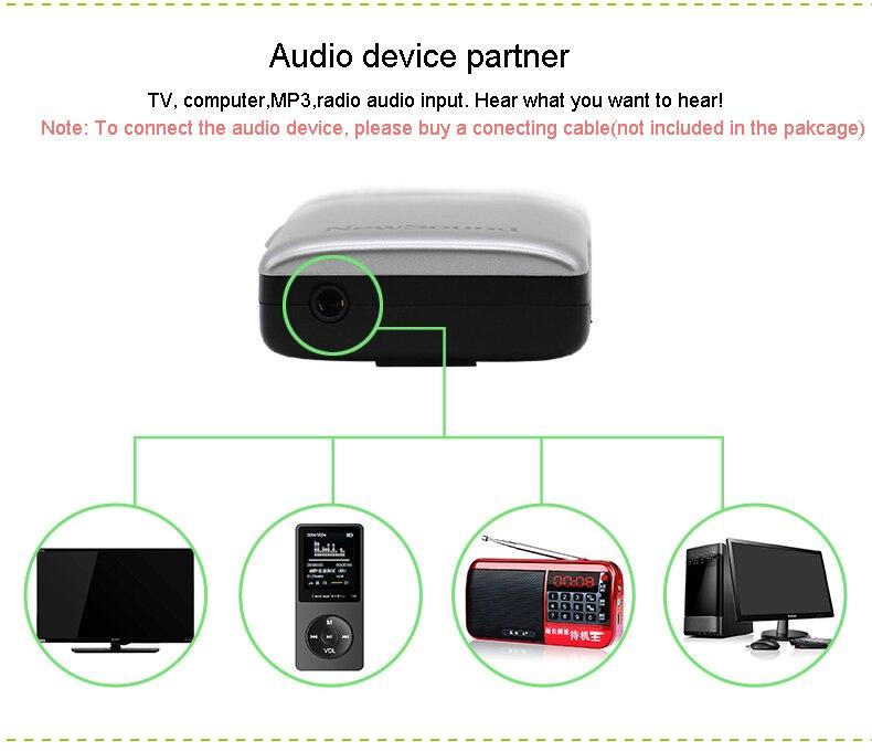 Cheap hearing aid Ear care machine analog powerful earphones