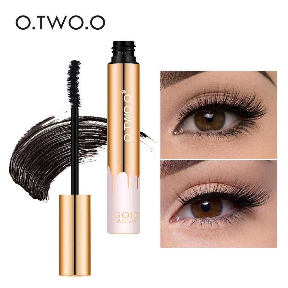 O.TWO.O Professional Volume Curled Lashes Black Mascare Waterproof Curling Tick Eyelash Lengtheing 3D Eye Makeup Mascara