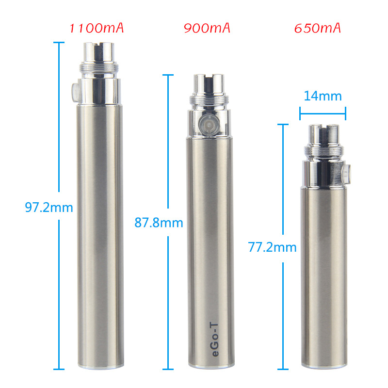 , Ego Kit with CE4 Clearomizer Electronic Cigarette Vaporizer 650/900/1100mAh eGo CE4 Blister Starter Kit Vape Pen E Cigarettes