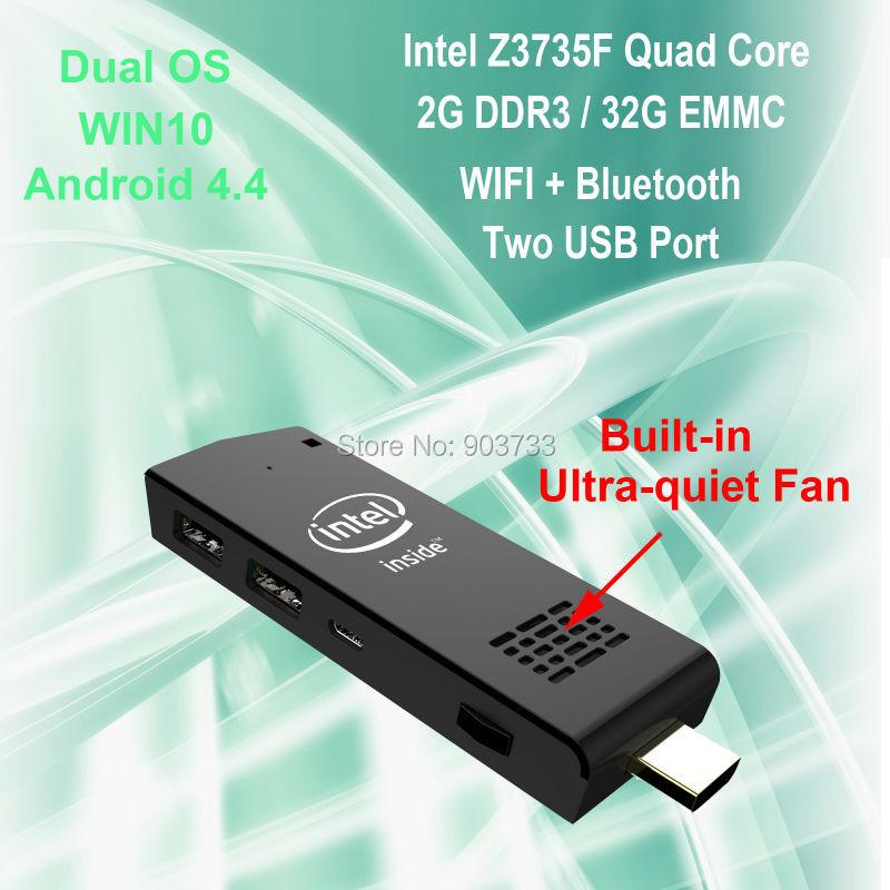 WoYi W5 MINI PC Intel aton Z3735F 2G/32G WIFI Bluetooth Winds
