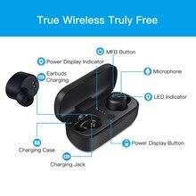 Wavefun X-Pods 2 TWS Mini Bluetooth V5.0 Earphones True AAC Wireless Headphones Stereo Earbuds IPX5 Waterproof Headset with Mic
