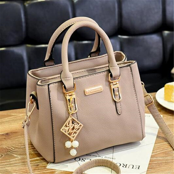 AiiaBestProducts Women Solid Color Handbag 5