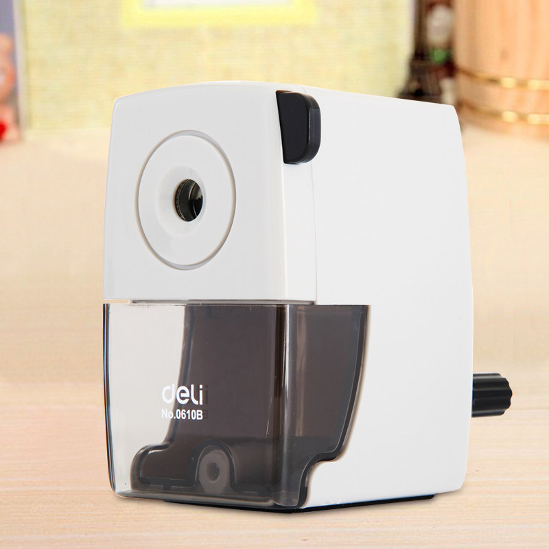0610B Hand Pencil Sharpener Stylish Simple Planer Office Pencil Sharpener Stationery Items