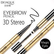 BIOAQUA 3D Mutiple Long-lasting Eyebrow Pencil 3 in 1 Liner Eye Brow Pen Makeup Waterproof Soft And Smooth Fashion Eye Make Up