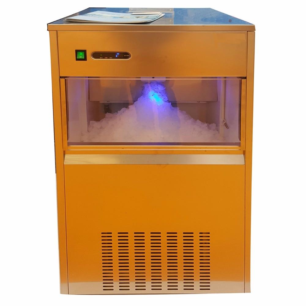 Flocons de glace en poudre MS50 faisant la Machine de fabrication de glace en flocon de neige pour les magasins