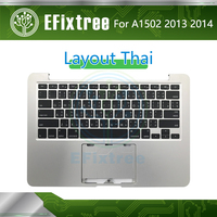2013 2014 Year A1502 case Topcase With Keyboard Thai For Macbook Pro Retina 13 Top Case Palmrest With Layout EMC 2678 EMC 2875
