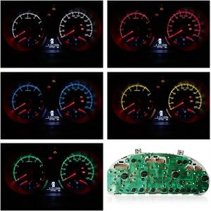 Image 5 - أضواء لوحة القيادة للسيارة LED ، T3 F8 1SMD ، لمبات إسفين COB ، مصباح مجموعة الأدوات ، 12 فولت ، مؤشر تحذير ، الإضاءة الداخلية ، 100 قطعة