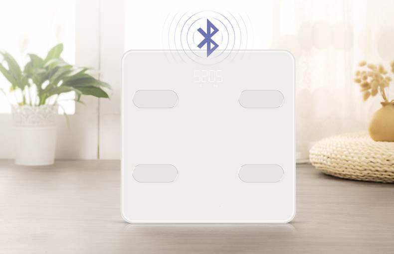 Balance de graisse intelligente mesure du poids corporel graisse corporelle eau livre électronique maison APP instrument de graisse corporelle