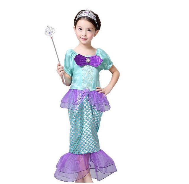 Cagiplay Kind Baby Madchen Kleine Meerjungfrau Ausgefallene Kleidung