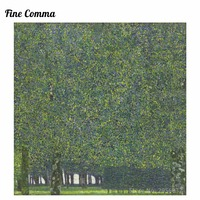 The Park 1910 by Gustav Klimt MoMA Canvas Painting Wall Art Pictures Hand Painted Oil Paintings Reproduction for Living Room
