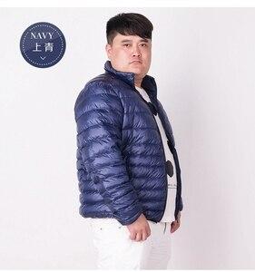 Image 4 - NewBang Marke Plus 7XL Ultra licht Unten Jacke Männer Leichte männer Unten Mantel Männlichen Warme Tragbare Windjacke Feder Parka