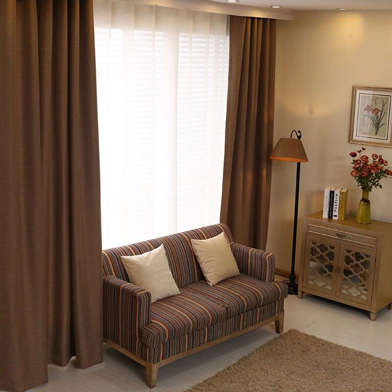 cortinas del dormitorio color slido japn ropa de imitacin de la tela blackout cortinas de la