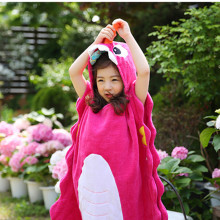 779e3fe557 WBTRO Children Beach Towel Boys One Piece Swimwear Girls Bathing Suit  Hot-spring Cotton Beachwear Cloak Towel Bathrobe Accessory