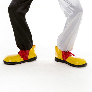 Funny Artificial Leather Clown Shoes Adults Cosplay Clown Shoes Costume Props Halloween Party Dress Up Decoration 5