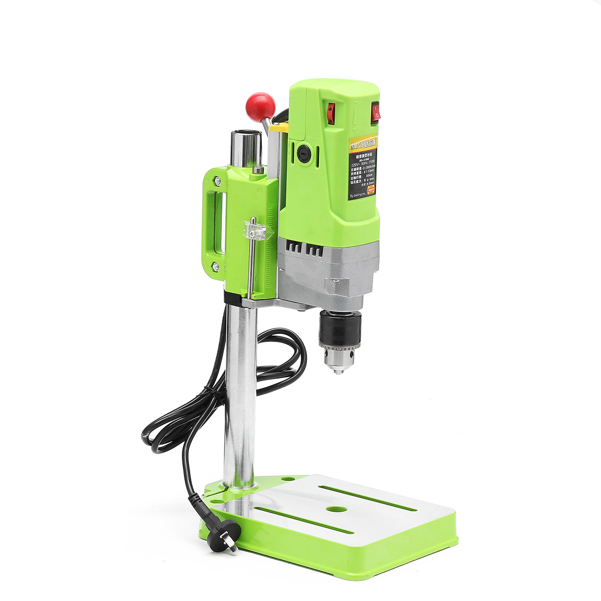 High Quality Bench Drill Stand 710W Mini Electric Bench Drilling Machine Drill Chuck 1-13mm