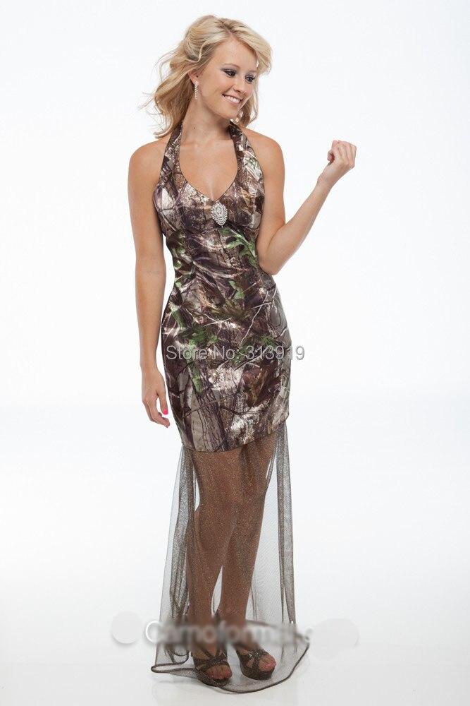 Popular Camo Formal Dress-Buy Cheap Camo Formal Dress lots from ...