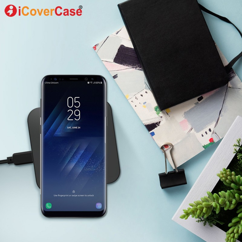 Wireless Charger For Xiaomi redmi note 5 pro 4 4x Charging Pad Qi Receiver Phone Accessory Xiaomi redmi 4a 4x 3 3s 5a 5 5 plus in Mobile Phone Chargers from Cellphones Telecommunications