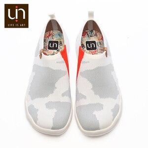 Image 2 - UIN Toledo Zapatillas para hombre informales cómodas y sin cordones, mocasines tejidos, diseño en U