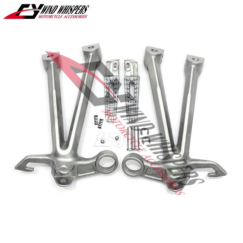 Free shipping motorcycle Aluminum Rear Footrests Foot pegs
