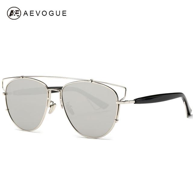 AEVOGUE Mais Novo Revestimento de Lente Polarizada Óculos De Sol Mulheres Polaroid Óculos de Sol de Design Da Marca Venda Quente Com Caixa UV400 AE0247