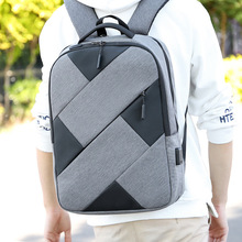 15.6 Inch Laptop Backpack USB Charging Single layer Bag Mens Shoulder Business Casual Travel Large Capacity