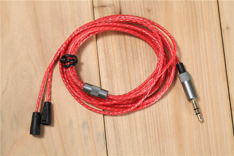 DIY earphone wire upgrade cable for IE80 IE8 ...