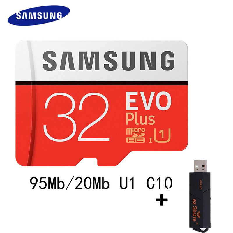 SAMSUNG Micro SD <font><b>Card</b></font> 64GB 100Mb/s 16GB <font><b>32GB</b></font> 128GB 256GB Class10 U3 / U1 Microsd <font><b>Memory</b></font> <font><b>Card</b></font> Flash TF <font><b>Card</b></font> for <font><b>Phone</b></font> SDHC SDXC