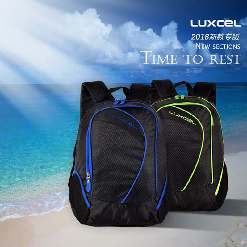 56b8574c97fe Luxcel waterproof backpack for teenagers boy Men s rucksack laptop  compartment college schoolbag urban style mochila supreme bag-in Backpacks  from Luggage ...
