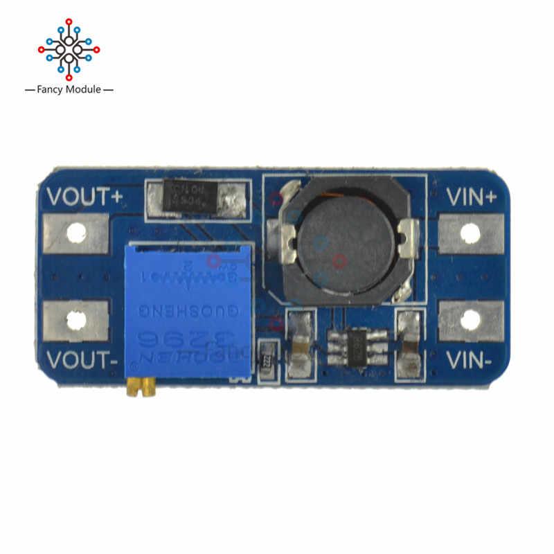 MT3608 DC-DC convertisseur de puissance d'appoint Module de puissance d'appoint Module de puissance maximale 28 V 2A pour carte Arduino