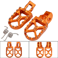 Motorcycle Foot Pegs Footrest Footpeg For KTM SX SXF EXC EXCF XC XCF XCW 85 125 150 250 350 450 505 525 530 2016 2017 2018 2019
