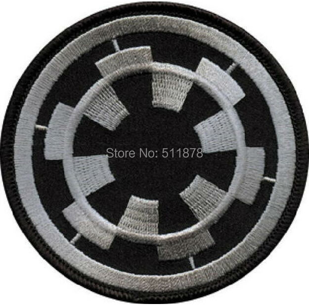 10 LARGE Star Wars Imperial Empire Logo TV Movie Series Uniform rockabilly applique iron on patch