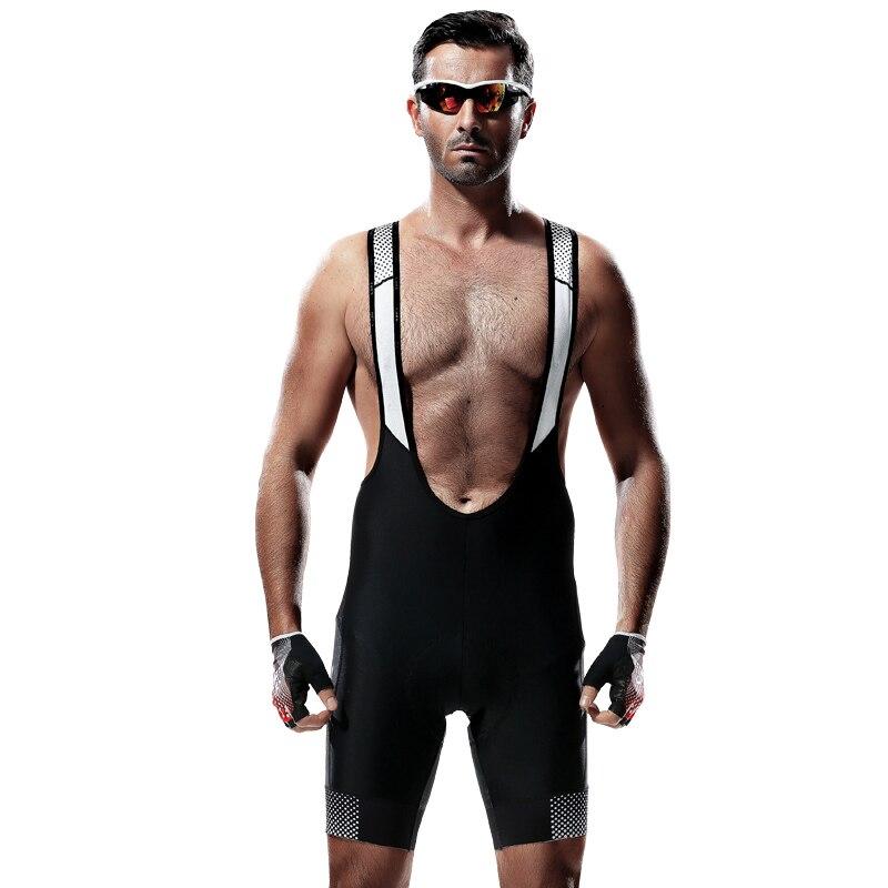 Мужские велосипедные шорты Santic 4D Coolmax, противоударные шорты с мягкой губкой, быстросохнущие шорты для горного велосипеда, Culotte Ciclismo Hombre - 4