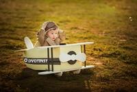 Dvotinst новорожденных Подставки для фотографий деревянный позирует самолет Posser Bebe аксессуары для новорожденных Studio стрелять реквизит для фот