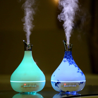 Ultrasonic Microwave Smart Sensor Fragrance Essential Oil Incense Burner Humidifier Aromatherapy Diffuser Purifier