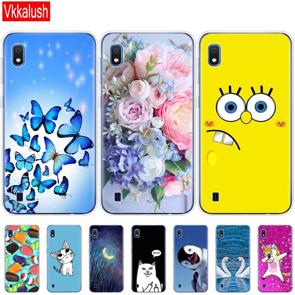Case For Samsung A10 Case Soft Silicon Back Cover Phone Case For Samsung Galaxy A10 GalaxyA10 A 10 SM-A105F A105 A105F Cartoon