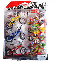 Mini 5 skateboard +3 bicycles bmx bike toy for children kids skate boards scooter FSB fun Novelty bicycle gift