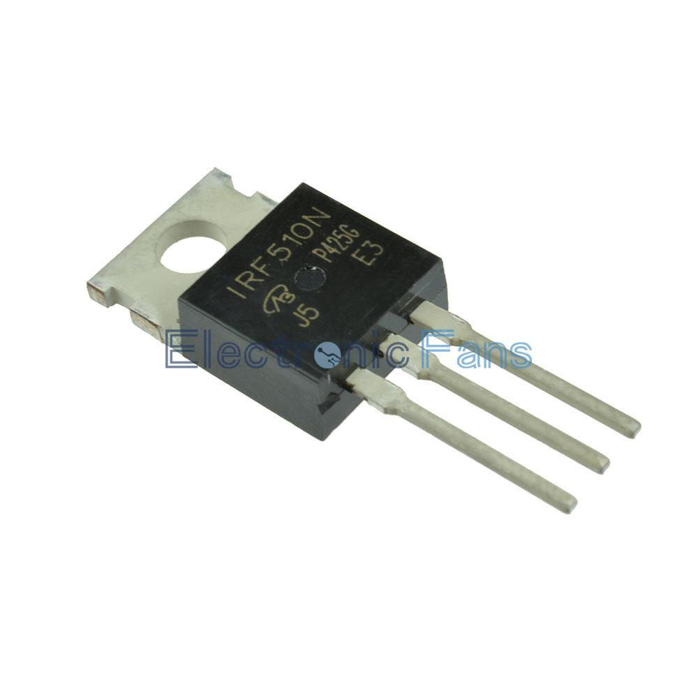 10 Stks Nieuwe Irf510n Irf510 Mosfet To 220 In Irfz44n Electronic Components Integrated Circuit Transistor Stk Aeproductgetsubject