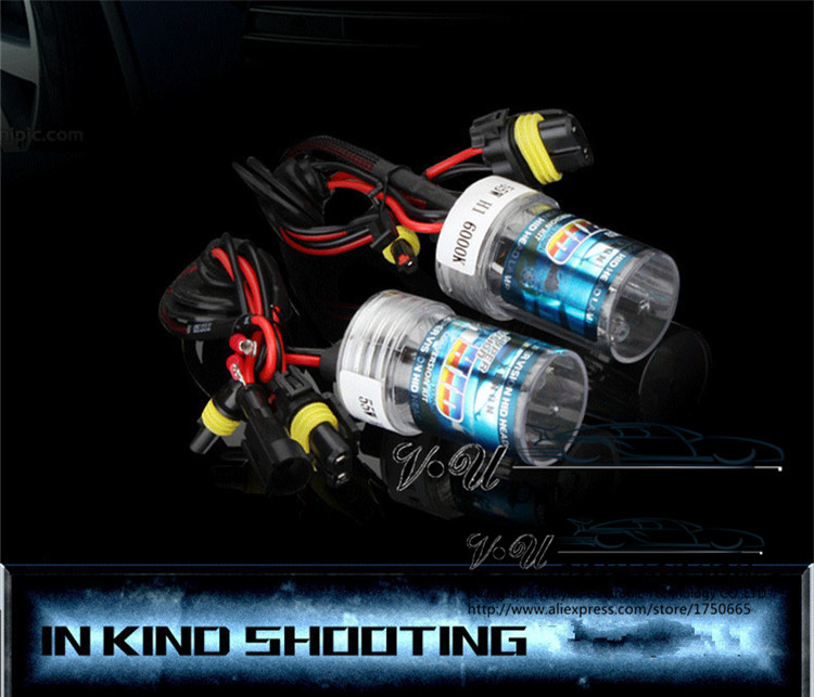 12V55W Xenon HID Replacement Car Auto Headlight Lights Lighting Conversion Kit Lamp Bulb H1 H3 H7 H8 H9 H11 9005 9006 HB3 4