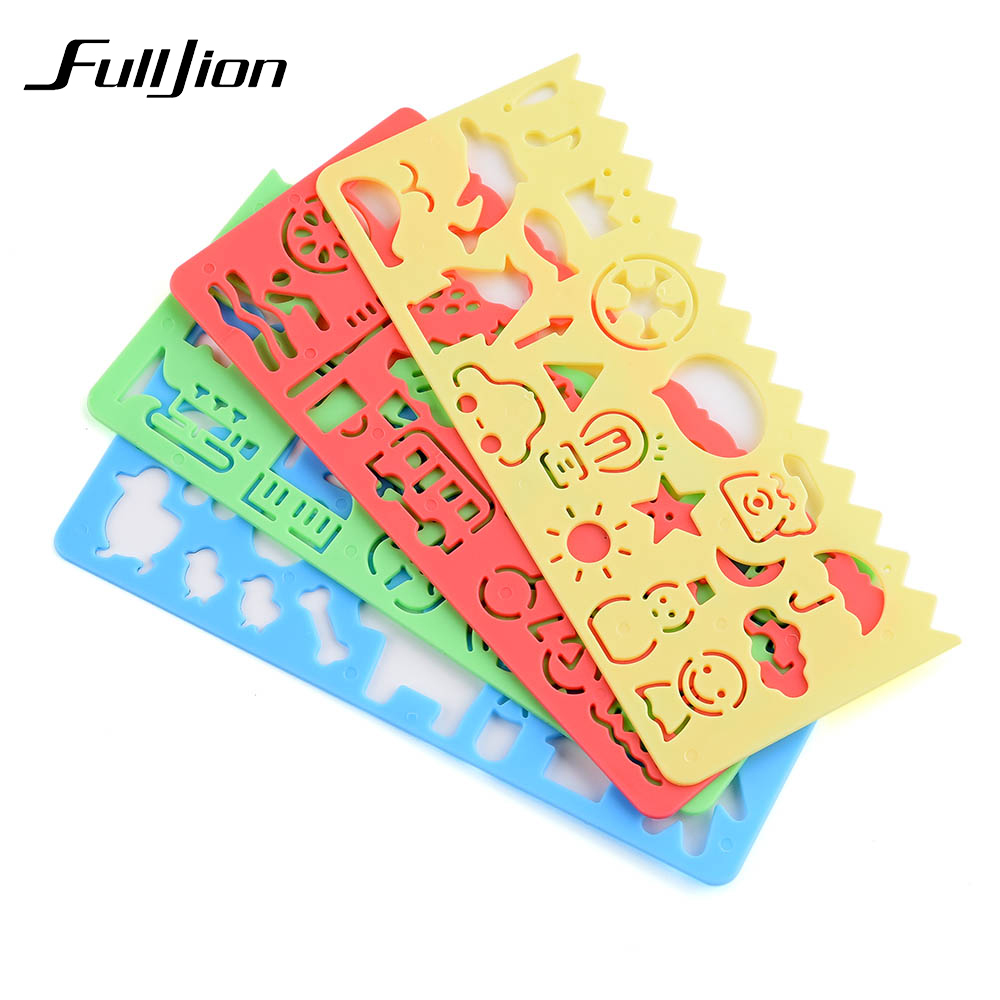 Fulljion-Drawing-Toys-Template-Ruler-Painting-Tools-Learning-Education-Spirograph-Stationery-Sketchers-School-Supplies-Kids-Craf-2