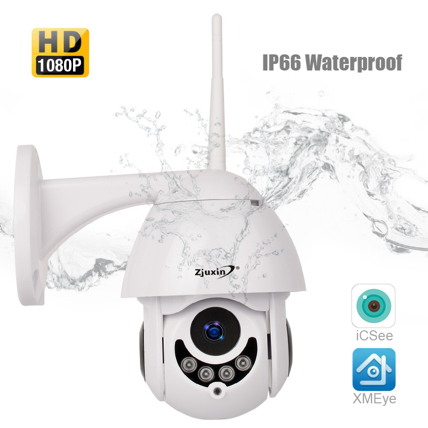 PTZ IP Camera HD 1080P 2MP Outdoor Onvif Speed Dome CCTV Waterproof security surveillance ipcam exterior camara de vigilancia