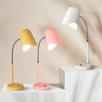 Современные Светодиодный Настольные лампы прикроватная тумбочка для спальни освещение Nordic Стол lights исследование освещения гостиная свети