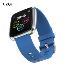 UZQi Smart Watch Large Full Touch Screen Heart Rate Monitor Bluetooth 4.0 SmartWatch Bracelet Wearable Devices For IOS Android