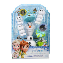 Disney Frozen Princess Olaf Action Figures Frozen Figures Hot Toys Birthday Gifts for Children(China)