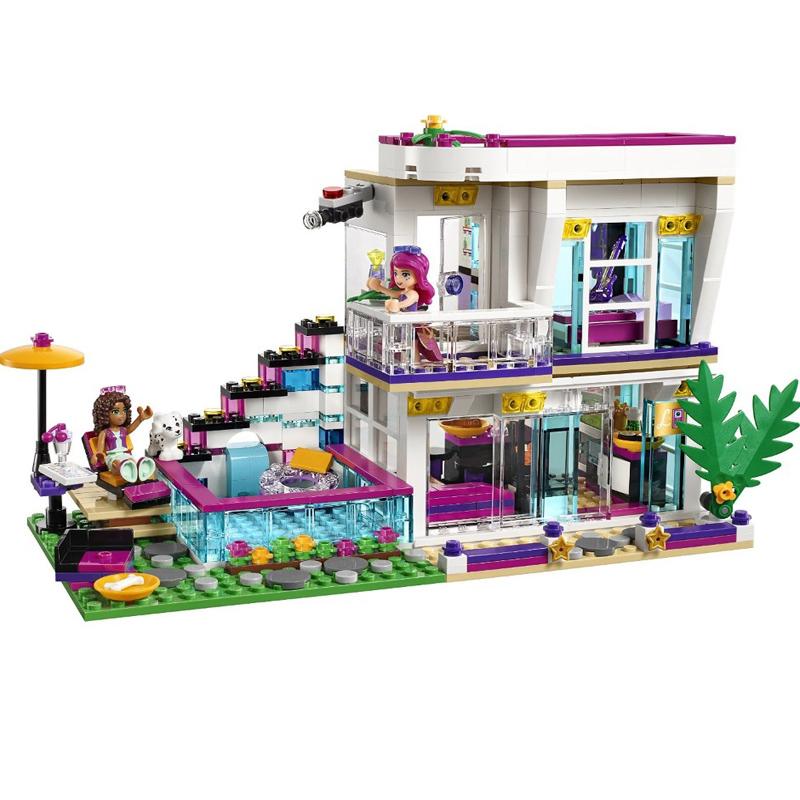 619-Pcs-Bela-10498-Girl-Friends-Series-Livi-s-Pop-Star-House-Building-Blocks-Andrea-Toy (1)